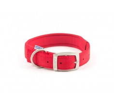 Nylon Padded Dog Collar (4) Neck 35-43cm