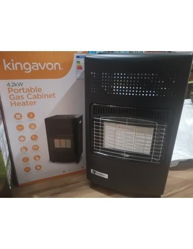 Kingavon 4.2kw Portable Heater Gas Cabinet