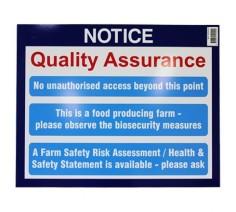 Farm Sign - Bio-security...