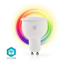 Wi-Fi Smart Bulb Nedis SmartLife GU10 full colour and warm white