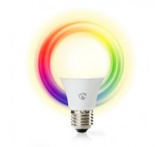 Wi-Fi Smart Bulb Nedis SmartLife E27 full colour and warm white