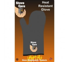 Heat Resistant Stove Glove Black