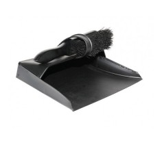 Brush and Pan Set Fireside Collection Black