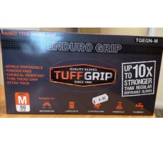 Nitrile Disposable Gloves Enduro Grop Medium 50pcs