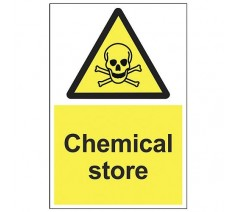 Chemical Store Sign 200mm x...