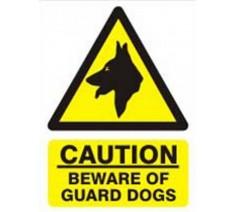 Caution Beware of Guard...
