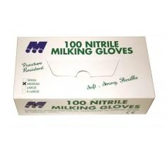 Nitrile Milking Gloves 100no Medium/Large/X-Large