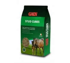 Gain Stud Cubes Horse Feed 25kg