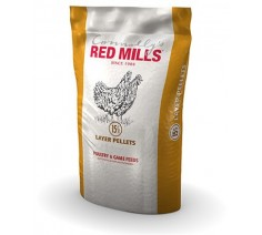 Layer Pellets Poultry Feed 15% Red Mills 5kg