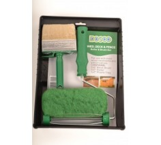 Shed, Deck & Fence Roller & Brush Set from Dosco