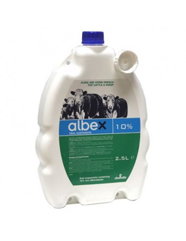 Albex 10% 2.5 Litre (Cattle)