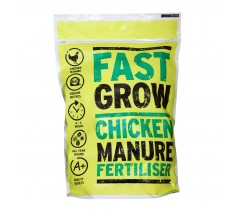 Fast Grow Chicken Manure Fertiliser 10kg