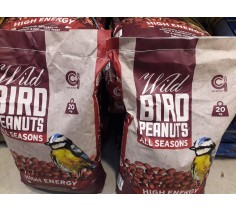 Wild Bird Peanuts 20kg