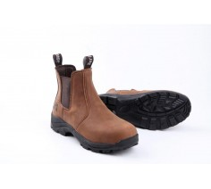 Brown Leather Heritage Boots