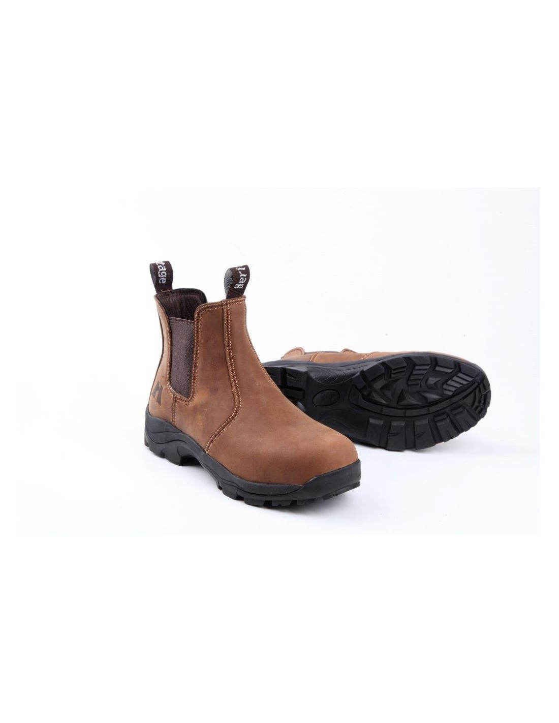Heritage Dealer Leather Brown Boots