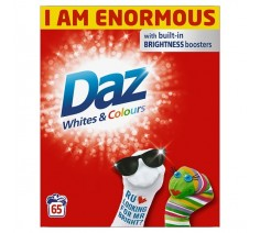 Daz Whites and Colours...