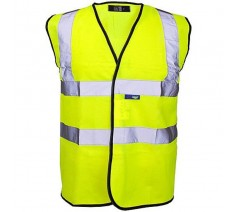 Kids Yellow High Visibility Vest