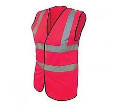 Pink High Visibility Vest