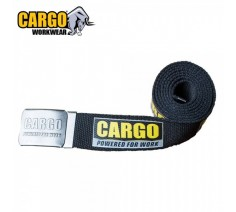 Cargo Tough Canvas Work Belt Black
