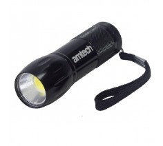Torch Amtech 3W Cob LED Mini Black