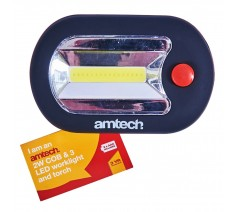 Amtech 2W COB & 3 LED worklight and Torch