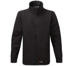 Fortress Black Selkirk Softshell Jacket (XS - XL)