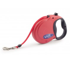 Retractable Dog Lead Medium 5m/16ft Red