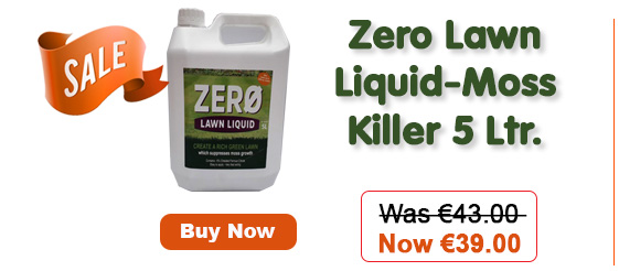 Zero Lawn Liquid-Moss Killer 5 Litre